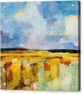Sky And Marsh Acrylic Print