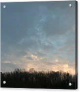 Sky At Dusk Acrylic Print
