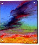 Sky Blastin Acrylic Print