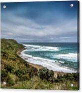 Sky Blue Coast Acrylic Print