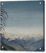 Sky Blue Acrylic Print