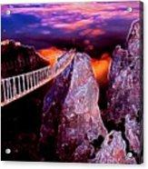 Sky Bridge Acrylic Print