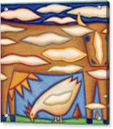 Sky Cow Acrylic Print