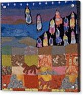 Sky Dancers Acrylic Print