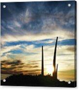 Sky Fingers Acrylic Print