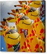 Sky Giraffes Acrylic Print