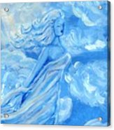 Sky Goddess Acrylic Print