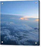 Sky High Mountain  Acrylic Print