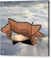 Sky Hole Sky Acrylic Print