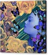 Sky Maiden Acrylic Print