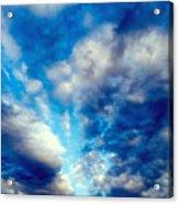 sky Acrylic Print by Niki Mastromonaco