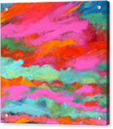 Sky Of Determination Acrylic Print