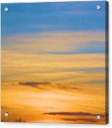 Sky On Fire...... Acrylic Print