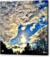 Sky Opens Acrylic Print
