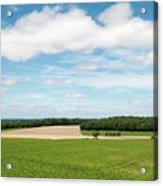 Sky Over Field Acrylic Print
