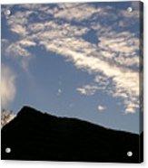 Sky Over Ft. Negley Acrylic Print