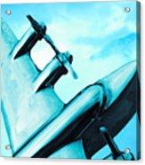 Sky Plane Acrylic Print