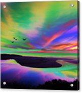 Sky Rays Acrylic Print