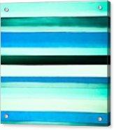 Sky Stripes 14 Acrylic Print