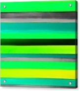 Sky Stripes 9 Acrylic Print