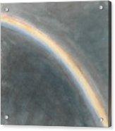 Sky Study With Rainbow Acrylic Print