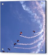 Sky Surfing Acrylic Print