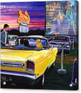 Sky View Drive-in Acrylic Print