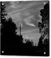 Sky With Clouds Acrylic Print