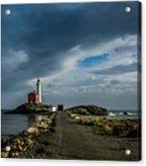 Fisgard Lighthouse Acrylic Print