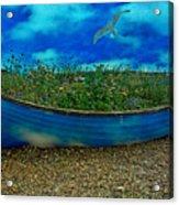 Skyboat Acrylic Print