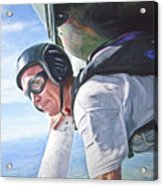 Skydiver  Acrylic Print