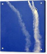 Skydivers Acrylic Print
