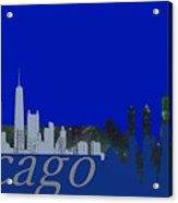 Skyline Chicago 4 Acrylic Print