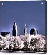 Skyline Cleveland, Ohio Acrylic Print