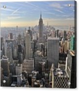 Skyline New York City  Acrylic Print