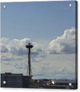Skyline Of Seattle  Acrylic Print