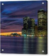 Skyline Sunset Acrylic Print