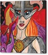 Skyrim Queen Acrylic Print