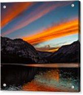 Skys Of Color Acrylic Print