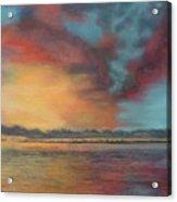 Sky's On Fire Acrylic Print