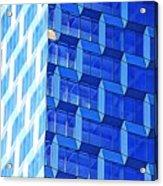 Skyscraper Blue Acrylic Print