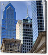 Skyscraper City Center  Liberty Place Acrylic Print