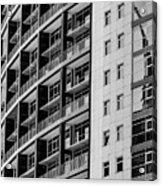 Skyscraper Detail Acrylic Print