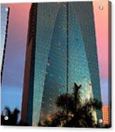 Skyscraper In Miami Acrylic Print