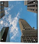 Skytops Manhattan Acrylic Print