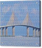 Skyway Bridge Acrylic Print