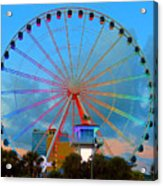 Skywheel Acrylic Print