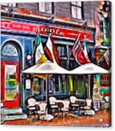 Slainte Irish Pub And Restaurant Acrylic Print