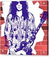 Slash Graffiti Tribute Acrylic Print