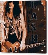 Slash, Guns'n'roses Acrylic Print